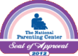 National Parenting Center Seal of Approval Award 2012