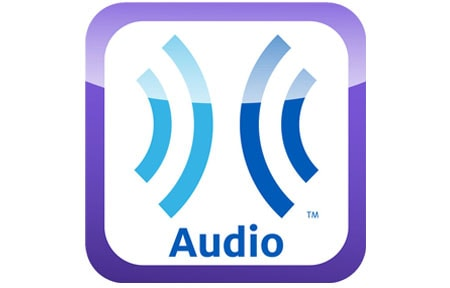 Purple and blue learning ally icon