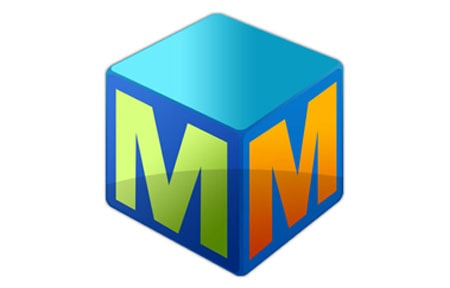Mindmapper blue cube icon