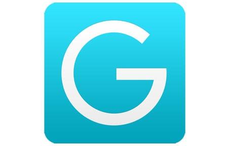Blue page english grammar icon