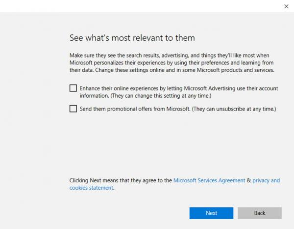 Windows 10's See what is most relevant pop up