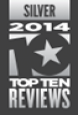 Top Ten Reviews Silver Award 2014
